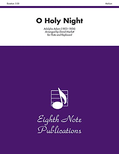 O Holy Night: Flute and Keyboard