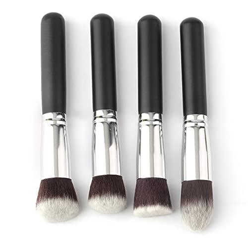 4 unids nuevo profesional maquillaje cepillos conjunto sombra de ojos base rimel mezcla lápiz maquillaje cepillos herramienta cosmética venta caliente