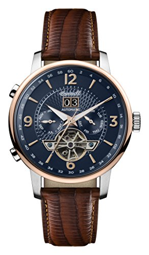 Ingersoll Men's Analogue Classic Automatic Watch with Leather Strap I00703