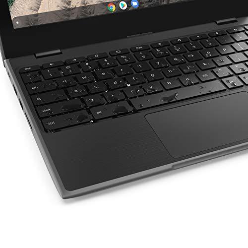 Product Image 6: Lenovo 100E Chromebook 2ND Gen Laptop, 11.6″ HD (1366 X 768) Display, MediaTek MT8173C Processor, 4GB LPDDR3 RAM, 16GB eMMC TLC SSD, Powervr GX6250, Chrome OS, 81QB000AUS, Black