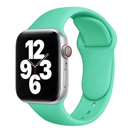 Correa deportiva de goma para Apple Watch se 6 5 4 banda 44 mm 40 mm pulsera accesorios correa para iWatch Series 4 3 21 38 mm 42 mm