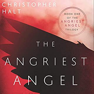 The Angriest Angel audiobook cover art