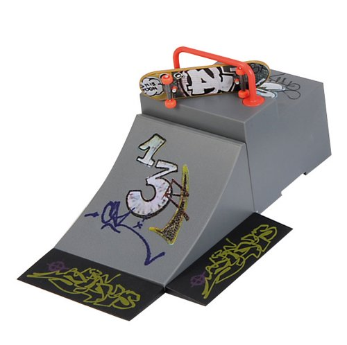Simba 103308477 - Mini - Skateboard Park, 4 - sort.