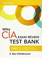Wiley CIA Test Bank 2020: Part 1, Essentials of Internal Auditing (1-year access)