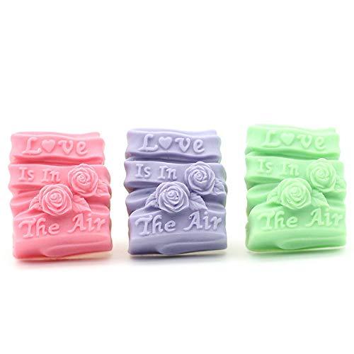 Fleur rose en silicone Bougie Savon fait main Savon Moules DIY Fabrication de savons Moules