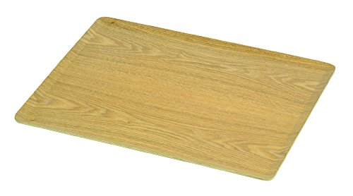 パール金属 トレー 角型 木製 36×28cm ノンスリップ加工 ナチュラル ブリック HB-3746