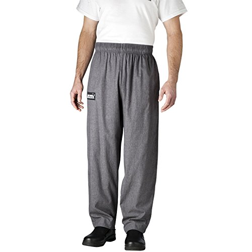 Chefwear 3500-32 Men's Ultimate Chef Pant L Charcoal