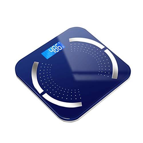 LJP Elektronische Waage, Genaue 0,1-180 Kg Haushaltserwachsene Kleine Bluetooth-Waage Zur Überwachung des Gewichtsverlusts (Color : Pink)