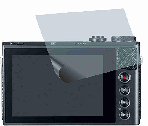 4ProTec I 2X ANTIREFLEX matt Schutzfolie für Canon PowerShot G9 X Premium Displayschutzfolie Bildschirmschutzfolie Schutzhülle Displayschutz Displayfolie Folie