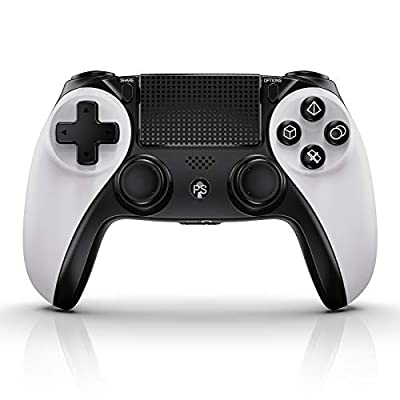 Wireless Controller for PS4, KINGEAR Gifts for Men Women Accessories for PS4 Gaming Controller, Gadgets for Men Women Unique Gifts for Men Who Has Everything Game Controllers with 6-Axis Gyro Motion by KINGEAR