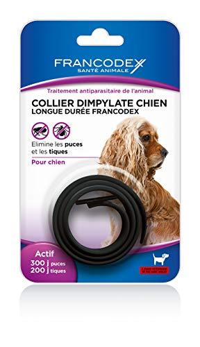 Francodex Collar ultrasonidos dimpylate para Perro–Negro para Perro