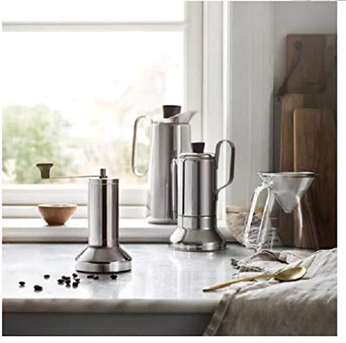 IKEA METALLISK Kaffeemühle, Edelstahl, 18 cm