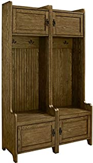 Crosley Furniture  Fremont Tower Entryway Hall Tree with Storage (Set of 2), Coffee (B07CJ7Y47D) | Amazon price tracker / tracking, Amazon price history charts, Amazon price watches, Amazon price drop alerts