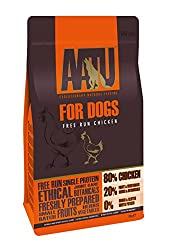 80% FREE-RUN CHICKEN- Our Chicken 80/20 food combines 80% fresh chicken with 20% 'super-8' fruit and veg for a delicious meal your pup will enjoy MADE USING THE 'SUPER-8' FOR VITAL NUTRIENTS- Our AATU dry dog food includes a bespoke combination of 8 ...
