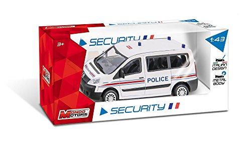Mondo - 53133 - Vehicule Miniature - Peugeot - Boxer Gendarmerie / Pompiers / Police - Modèle aléatoire