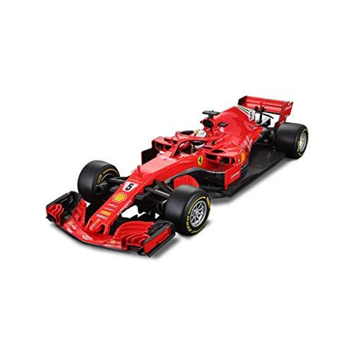 LIUCHANG Car Model 2018 Ferrari SF71H Raikkonen F1 Racing Simulation 1:18 aleación Coche Modelo Exclusivo de colección Modelo (Color: Rojo: 2017: 5, Tamaño: 29.5cm * 11cm * 6.5cm) liuchang20