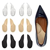 Arch Support Plantar Fasciitis Insoles for Women & Men,Adhesive Foot Arch Inserts for Flat Feet,Heel Support Cushion for Feet Pain and Relieve Pressure -3 Pairs