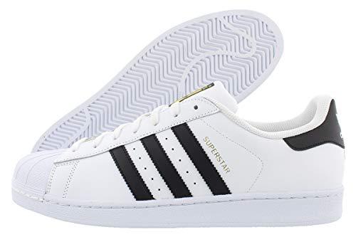 adidas Superstar, Zapatillas de deporte para Hombre, Blanco (Ftwr White/Core Black/Ftwr White 0), 43 1/3 EU