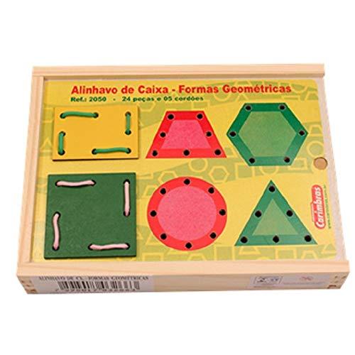 Alinhavo de Caixa Formas Geométricas - Carimbras REF 2050