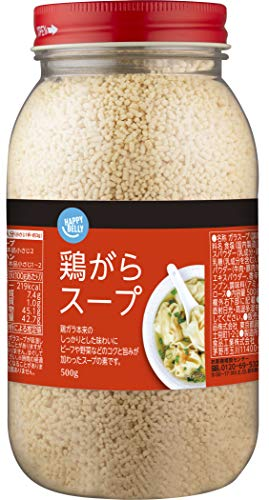 [Amazonブランド]Happy Belly 鶏がらスープ 500g