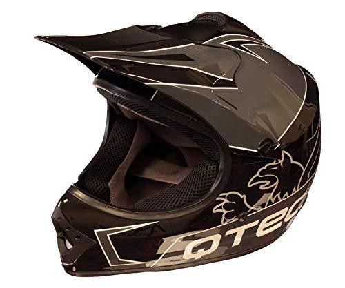 Qtech Niños Casco del Camino Motocross MX ATV BMX -...