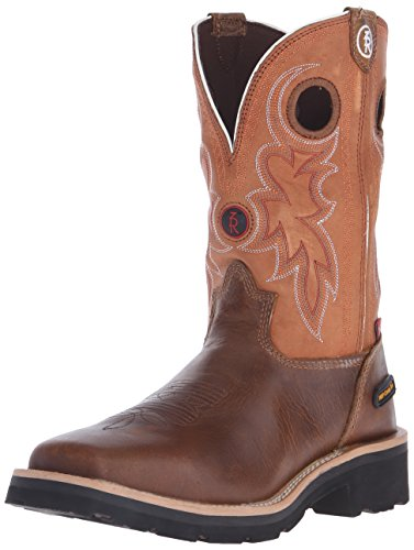 Tony Lama Boots Men's RR3300 Boot,Tan Comanche,10.5 D US