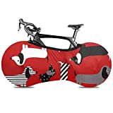 Lindsay Gosse Copriruota a Stella con Motivo zebrato per Bicicletta Copricerchio Elastico Tessuto Anti-Sporco Resistente ai Graffi Pacchetto Interno per Pneumatici per Bici Senza sporcizia
