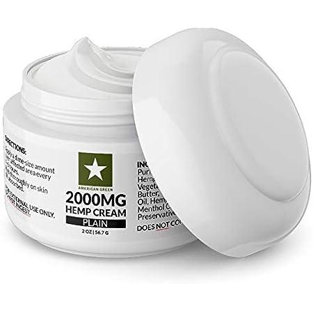 2000mg Hemp Cream (Plain)
