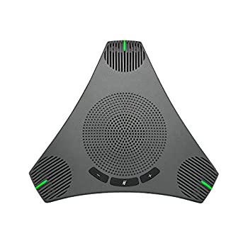 USB Speakerphone Microphone for 8-10 People Business Conference,360° Omnidirectional Microphone for VoIP Calls/Skype/Meeting/Recording/Chatting,Plug & Play Compatible with Windows/Mac OS X