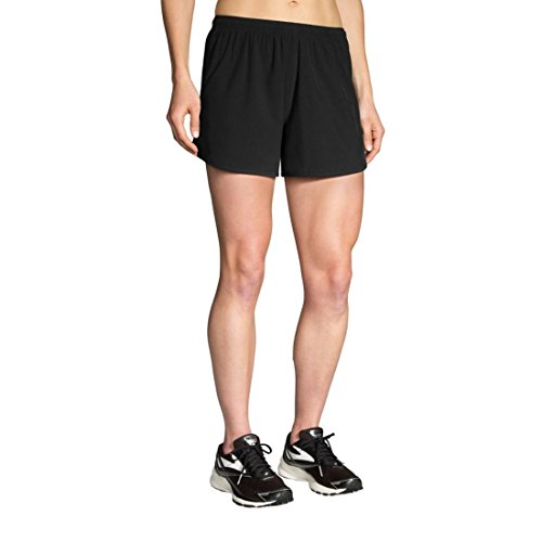 Brooks Women's Go-to 5' Short, Black, Small 5