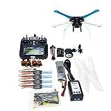 QWinOut 500mm Multi-Rotor Air Frame Full Kit S500 PCB DIY GPS Drone APM2.8 Flysky 2.4G FS-i6 Transmitter Motor ESC