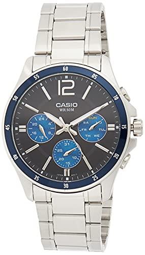 Casio Men's Enticer Mtp 1374D 2Avdf(A950) Black