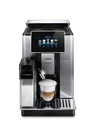 De'Longhi Primadonna Soul, Fully Automatic Bean to Cup, Espresso an Cappuccino Coffee Maker, ECAM610.75.mb, Black and Silver