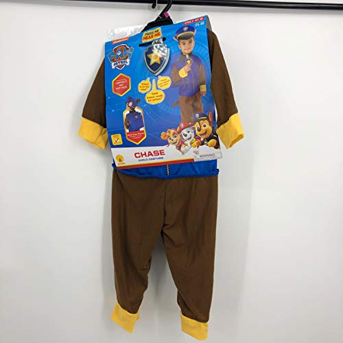 Paw Patrol Chase Toddler Costume with Sound 3T-4T