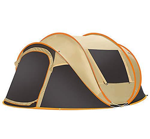 LEJZH Camping Familie Tent, 5-8 Persoon Automatische Pop Up Waterdichte Tenten met Lichtgewicht Draagtas Snelheid Open Tent voor Outdoor Camping Wandelen Vissen