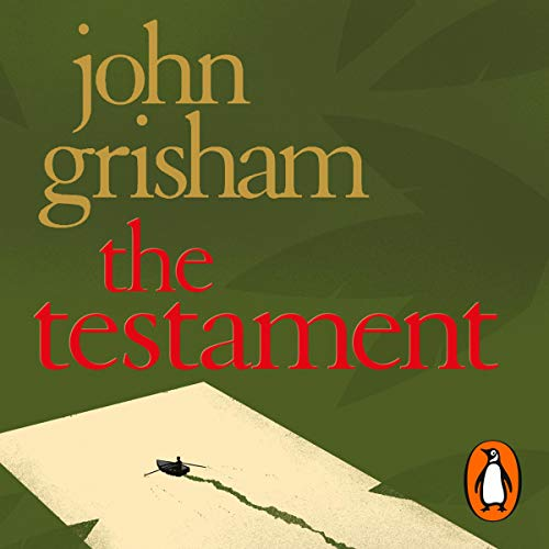 The Testament audiobook cover art