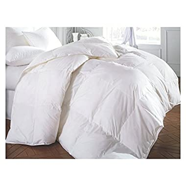 Perfect Home Collections Super Sale 100% Down Alternative Comforter(Full/Queen - White) Solid Quilted Comforter Hypoallergenic, Siliconized Fiberfill Duvet Insert