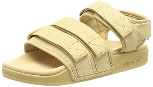 adidas Adilette Sandal 2.0, Slide Hombre, Hazy Beige/Footwear White/Hazy Beige, 38 EU