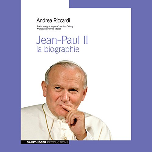 Jean-Paul II audiobook cover art
