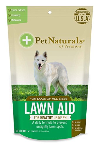 Pet Naturals of Vermont - Lawn Aid, Urine Balance Supplement for Dogs, 60 Bite Sized Chews
