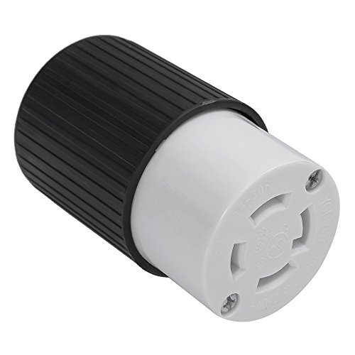 L14-30r Electrical Plug Female for 30A 125/250V 7500W Generators Twist Lock 4 Wire Electrical Plug Receptacle