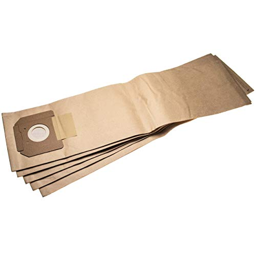 vhbw 5 Staubsaugerbeutel Ersatz für Kärcher 6.904-208, 6.904-208.0, 6.904208.0, 6904-2080, 69042080 für Staubsauger, Papier 75.9cm x 20.1cm