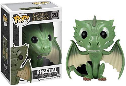 Mdcgok ¡Popular! TV: Game of Thrones - Rhaegal # 20 Figura de Vinilo Coleccionable de la Serie de TV