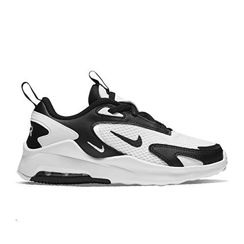 Nike Air MAX Bolt, Zapatillas de Running Unisex niños, Blanco, Negro y Blanco, 28 EU