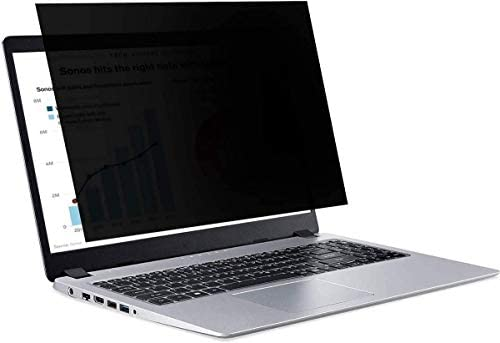 Laptop Privacy Screen Protector 15 6 Inch Widescreen 15 6 Anti Blue Light Anti Glare Screen product image