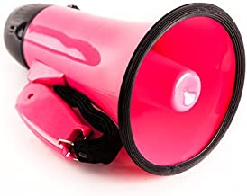 Sugar home Portable Megaphone Bullhorn 20 Watt Power Megaphone Speaker Voice and Siren/Alarm Modes with Volume Control and Strap