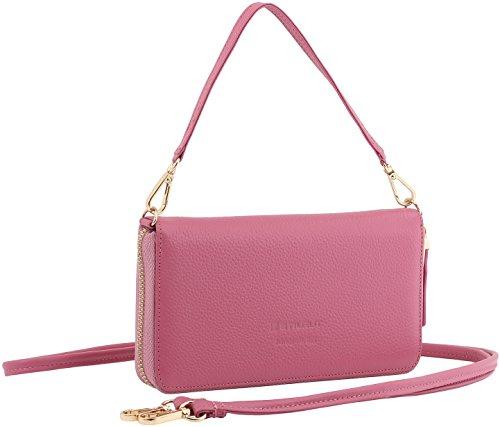 StilGut Smart Wallet in pelle - elegante clutch, portafoglio, custodia...