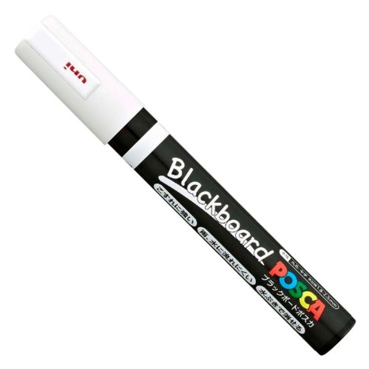 倍増遮ることわざuni ブラックボードポスカ 中字 白 水性顔料 PCE2005M.1