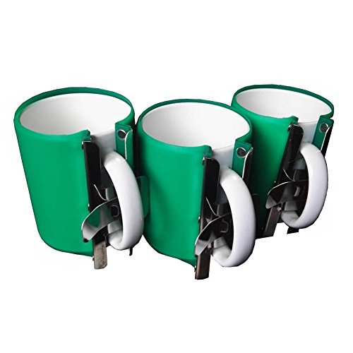 Heat Press Silicone Mug Clamp-EDIY 2018 Best Heat Press 15oz Cup Clamp Fixture for Printing Mug,3D Vacuum Heat Press Machine,Sublimation Machine,including 3pcs Molds,Heavy Duty 100% Waterproof