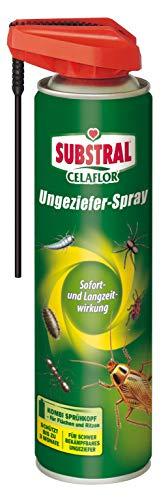 Substral Celaflor Ungeziefer-Spray, gegen schwer bekämpfbares Ungeziefer mit Sofort- und Langzeitwirkung, geruchlos, 400 ml
